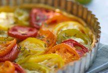 Tarte  à la Tomate couleur