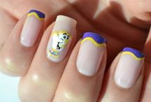 Nail cartoon, Disney and other characters
