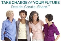 AARP Decide.Create. Share. - Digital Sisters Planning for the Future! / The Pinterest board supports the Digital Sisterhood Network's partnership with AARP's Blogger Kitchen Cabinet for the Decide. Create. Share Campaign.  / by Ananda Leeke