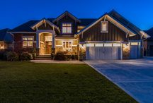 Pervenche Lane - South Jordan / A scaled-down version of one of our more well-known Parade Homes, this luxury, craftsman style home is the definition of quality. The home was meticulously designed and built- down to every last detail. Only the finest building materials were used, including the crystal knobs, bamboo window coverings, and pavers for the exterior walkways and landscaping. Features a master on the main floor and a gourmet kitchen, and a bonus room upstairs that has been converted into a playroom for the kids.