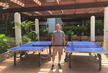 Cornilleau 500M / The Cornilleau 500M outdoor ping pong table - the finest table on the market.