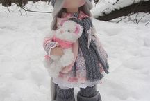 Dolls, patterns and ideas