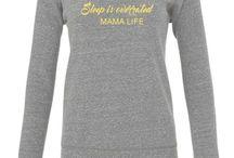 Mama sweatshirts / Mama sweatshirts and mama life tops by Little Dot Company