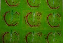 AS Textiles Art Exam  / Developing ideas