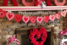 Valentin napi dekor
