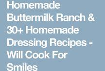 Food - Salad dressings