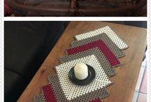 Crochet doily, tablecloths, tablerunner