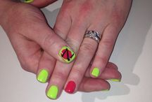 Nails at our salon!!!