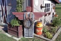 DIY/Yard/Garden Project Ideas / by Gwen Kugler