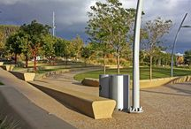 Tongva Park, Santa Monica, CA / We completed this installation in Tongva Park across the street from the Santa Monica City Hall in 2013.
