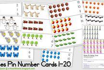 printables - numbers