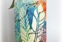 Tags & bookmarks / Mixed media tags and bookmarks