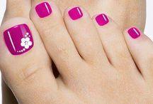 Diseño.de uñas pies