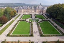 Photographies aériennes, maisons, propriétés, châteaux...