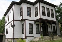 Turkish mansions built with traditional architecture / 18 and 19 century Ottoman town of Safranbolu can protect tissues until today most of the historical monuments, Candaroğulları and Ottoman periods. Historical monuments in Safranbolu, mostly square or almost square, flat roofs or domes, rubble stone are examples of lean