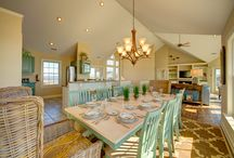 Coastal Dining Areas / by Outer Beaches Realty