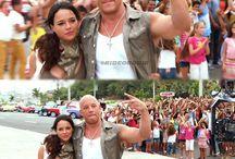Letty ortiz and Dominic Toreto