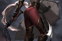 guerreras sexys