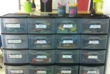 Classroom decor & organization / by Molly Sink