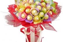 Доставка на букети от бонбони