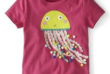 Μοτίβα για παιδικές μπλούζες