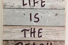 SALE on quality Beach signs  'Life is the beach' FREE SHIPPING Australia Wide at Zen  Gifts