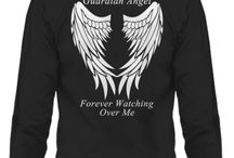 Pop Pop Guardian Angel / Pop Pop Guardian Angel T-Shirts, Hoodies, Men's, Women's and Children's. Pendants, Necklaces, Bracelets, Cell Phone Cases for iPhone and Samsung / by Designs by Cali Kay