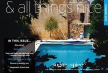 & all things nice Summer 2013 / Summer 2013 magazine from Sugar & Spice Childcare agency