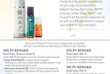 Free monthly oils. / My monthly freebies!!