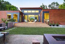 Modern Living & Architecture / Sleek interior design and modern architecture