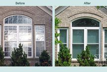 Home Improvement Projects – Before & After / View pictures of some amazing home-renovation transformations from the team at Stanek Windows. #replacementwindows #beforeandafter