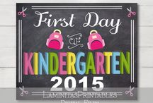 BACK TO SCHOOL - 1ST Day of school - 2015
