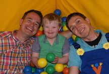 Summer Kids Fun Tour with Alex Winters (from Cbeebies) and Mr Yipadee / The Summer Kids Fun Tour went around Soft Play Centres in the UK throughout July & August