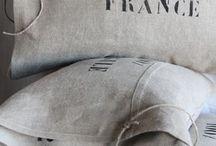 Vintage Linen Pillow