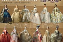 Fashion early XVIII century