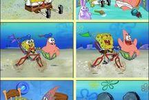 Patrick & Spongebob