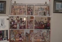 Mainly my Dolls houses and miniatures