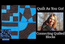quilt as you go connecting blocks
