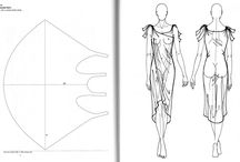 Patterns and such! / Design sketches, pattern templates and explains and tutorials for clothing making.