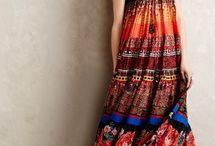 Этнические модели платьев
