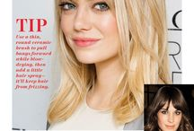 styling tips for bangs