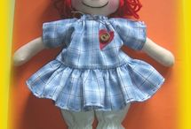{Raggedy Ann.} / Collection of Raggedy Ann things. Might be using it for my daughters 3rd birthday party!