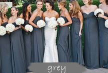 Wedding Color Inspiration - Gray / a gray color palette for your dream wedding!
