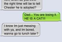Text Messages / by Lindsay Schmitz