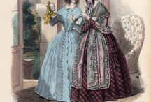 fashion plates 1840's
