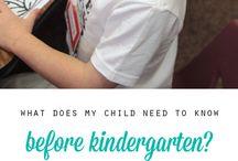 Kindergarten / by Amy Schuler