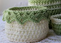 Crocheted Pots & Bowls