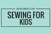 Sewing For Kids / Are you sewing for your lil ones? This board is all about projects that kids will love and even teaching your kids how to sew!
