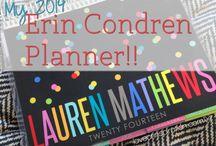 Life planning - Erin Condren