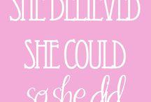 Inspirational / Pink!